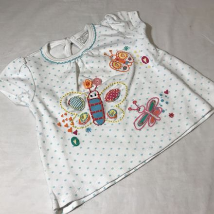 0-3 Month Butterfly Tunic
